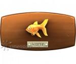 Sims 4 Fisch an der Wand Goldfisch