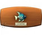 Sims 4 Fisch an der Wand Kaiserfisch
