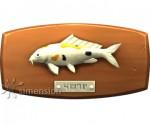 Sims 4 Fisch an der Wand Koi