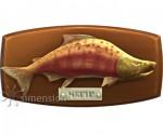 Sims 4 Fisch an der Wand Lachs