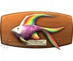 Sims 4 Fisch an der Wand Regenbogenfisch