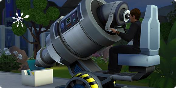 Sims 4 Mikroskop