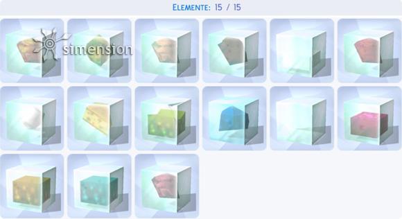 Die Sims 4 Sammlung Elemente – komplett