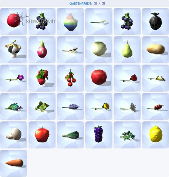 Die Sims 4 Sammlung Gartenarbeit – komplett
