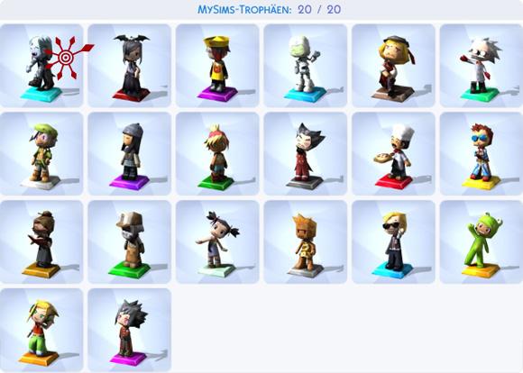 Die Sims 4 Sammlung MySims-Trophäen