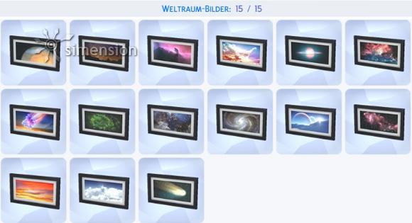 Die Sims 4 Sammlung Weltraum-Bilder