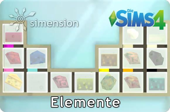 Die Sims 4 Sammlung Elemente