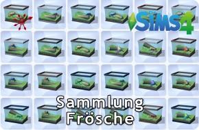 Die Sims 4 Sammlung Frösche