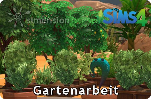 Die Sims 4 Sammlunge Gartenarbeit