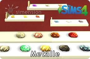 Sims 4 Sammlng Metalle