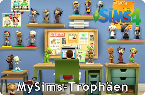 Sims 4 Sammlung MySims-Trophäen