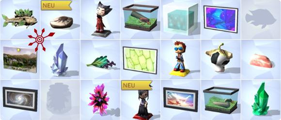 Sammlungen und Sammelobjekte in Die Sims 4