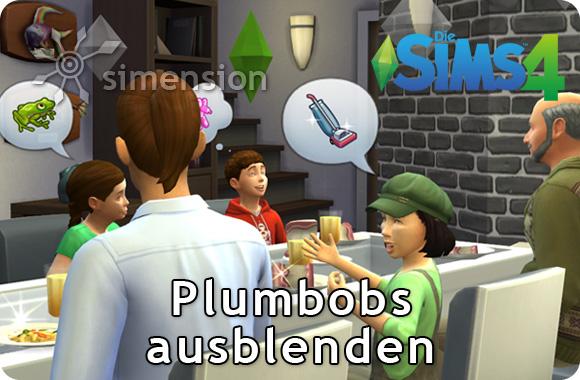 Die Sims 4 Tutorial: Schönere Bilder mit ausgeblendeten Plumbots und Headlines