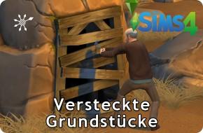 Die Sims 4 Versteckte Grundstücke