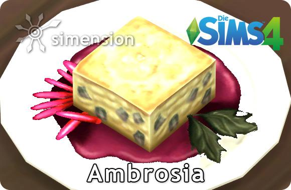 Die Sims 4 Ambrosia