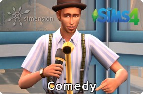 Sims 4 Fähigkeit Comedy