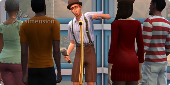 Sims 4 Comedy-Auftritte