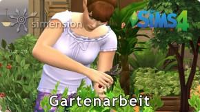 Die Sims 4 Fähigkeit Gartenarbeit