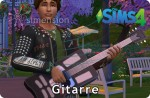 Die Sims 4 Fähigkeit Gitarre