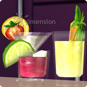 Sims 4 Fähigkeit Mixen mit zahlreichen Drinks