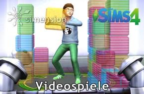 Die Sims 4 Fähigkeit Videospiele