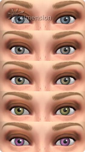 5 neue AUgenfarben in Die Sims 4