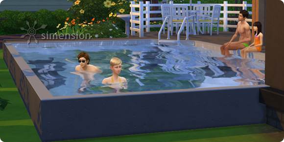 Pools im Fundament bis zum Rand bauen in Die Sims 4