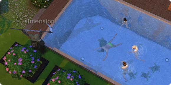 Die Sims 4 Todesart Ende durch Ertrinken