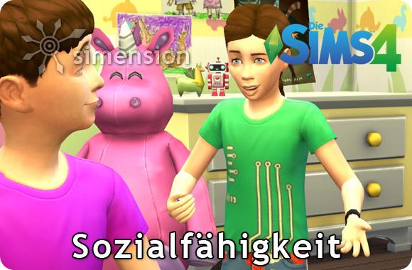 Die Sims 4 Sozialfähigkeit für Kinder
