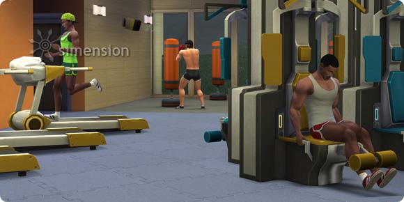 Sims 4 Fähigkeit Fitness mit verschiedenen Trainingsgeräten