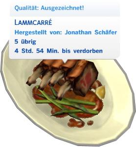 Sims 4 Fähigkeit Kochen: Essensqualität