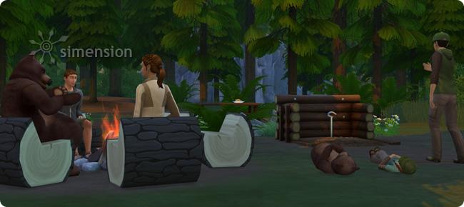 Die Sims 4 Outdoor-Leben mit neuen Optionen