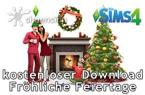 Sims 4 Fröhliche Feiertage Pack als kostenloser Download