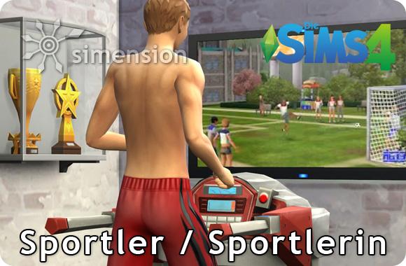 Sims 4 Karriere Sportler oder Sportlerin