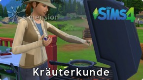 Sims 4 Fähigkeit Kräuterkunde