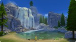 Wasserfall im Nationalpark in Granite Falls