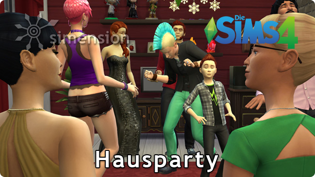 Sims 4 Hausparty