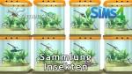 Sims 4 Sammlung Insekten