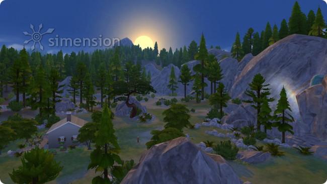 Sonnenuntergang beim Einsiedler von Granite Falls