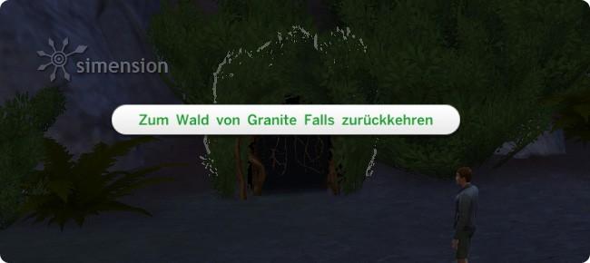 Einsiedler durch die Höhle verlassen