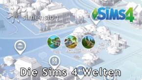 Die Sims 4 Welten
