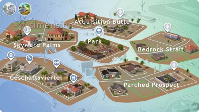 Weltenübersicht Oasis Springs