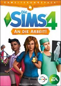 Die Sims 4 An die Arbeit Cover