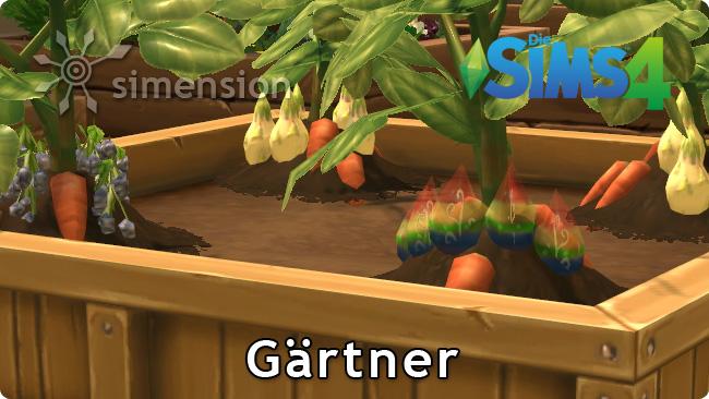 Sims 4 Gärtner