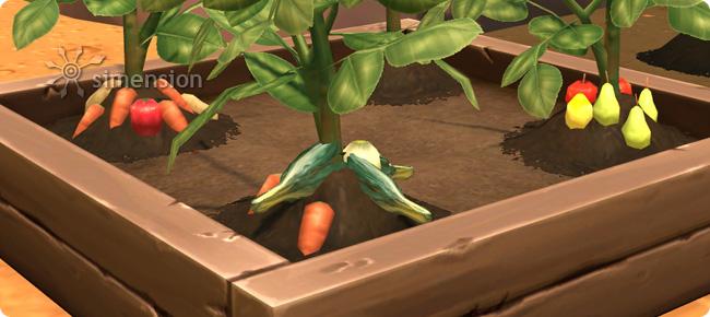 Sims 4 Fähigkeit Gartenarbeit mit der Veredelung von Pflanzen