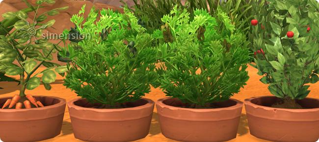 schnellwachsende Basis-Pflanzen für Die Sims 4 Gärtner