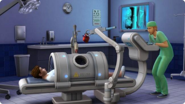 Die Sims 4 Aktive Karriere Arzt