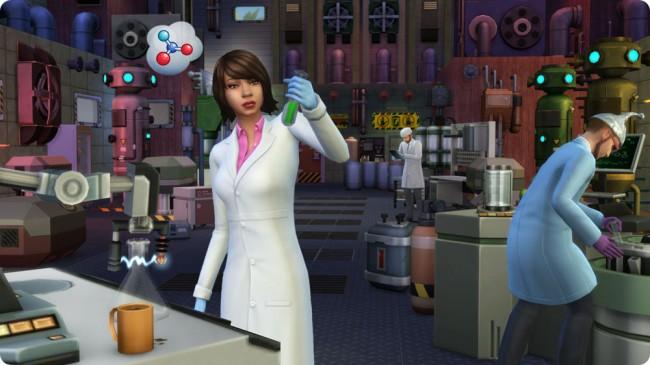 Die Sims 4 Aktive Karriere Wissenschaflter