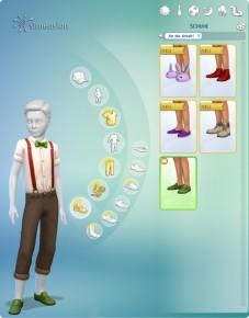 Kleiderpuppe im Erstelle einen Sim ein passendes Outfit zusammenstellen