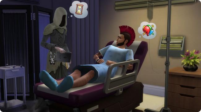 Die Sims 4 An die Arbeit ohne neue Todesarten